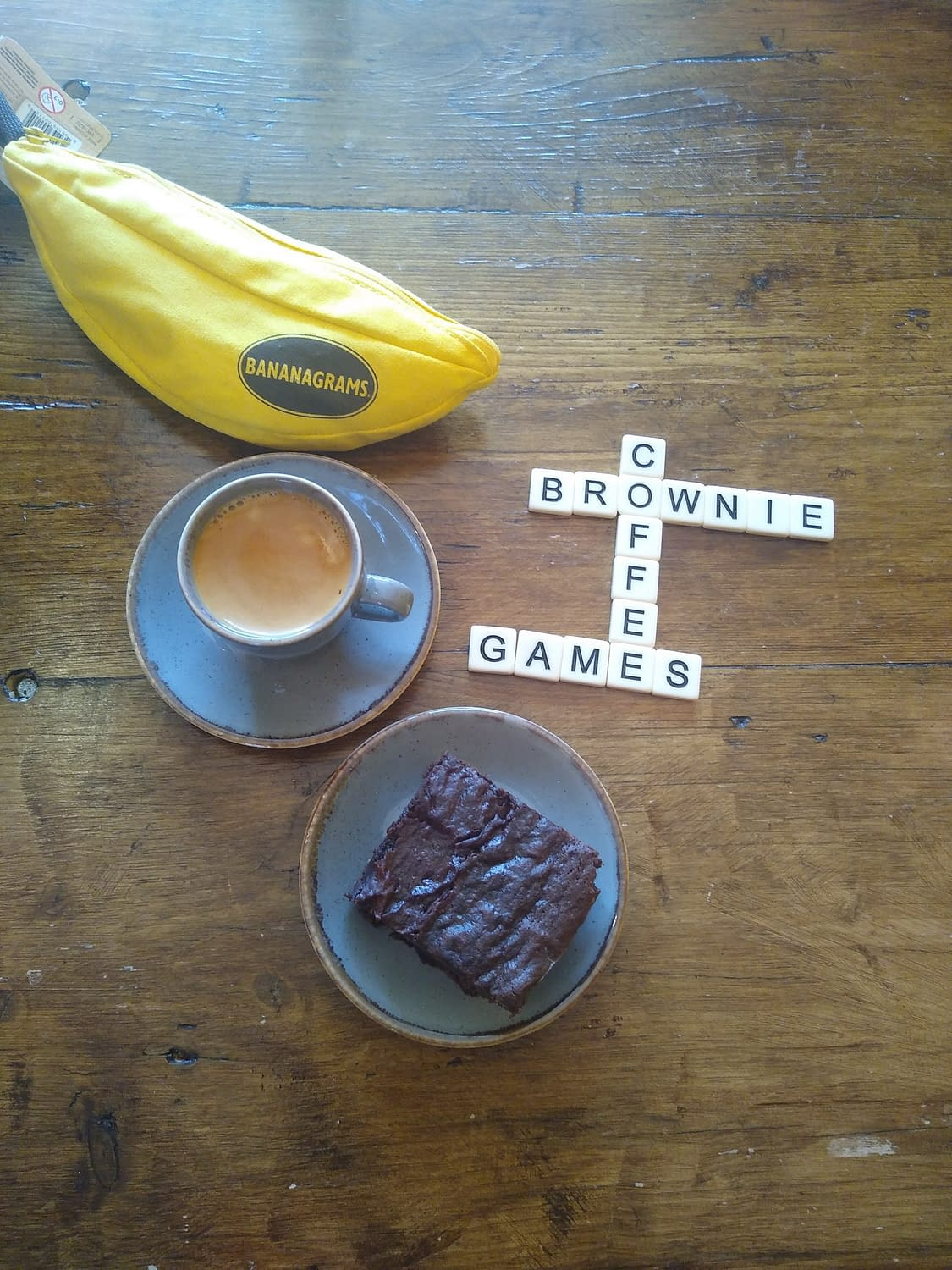 Coffee, Cake & Games - a winning combination